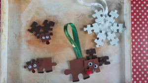We made these in my class to sell at the Christmas fayre, they are so cute and easy to make!