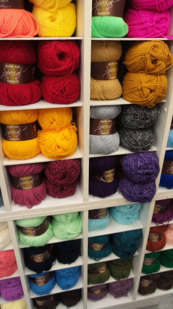 The wool shop!