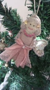 I've had this fairy for years, I love collecting Christmas decorations and remembering them every year.