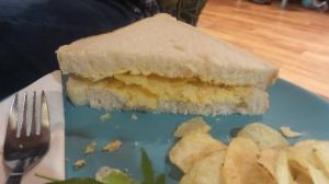 Crisp sandwich!